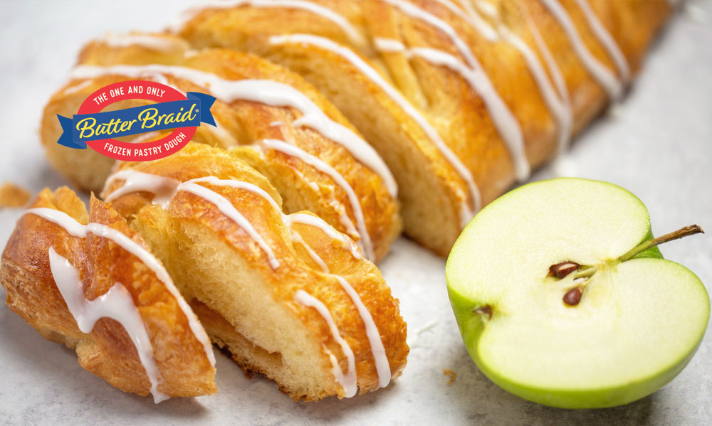 Uplifting Promotions - Apple Butter Braid pastry
